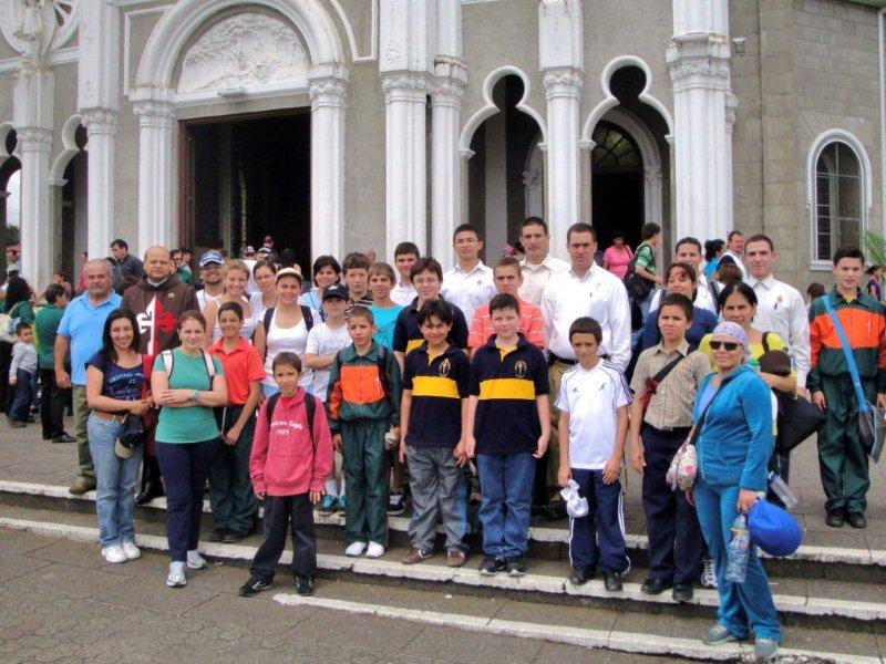 Romería a la Basílica de los Ángeles