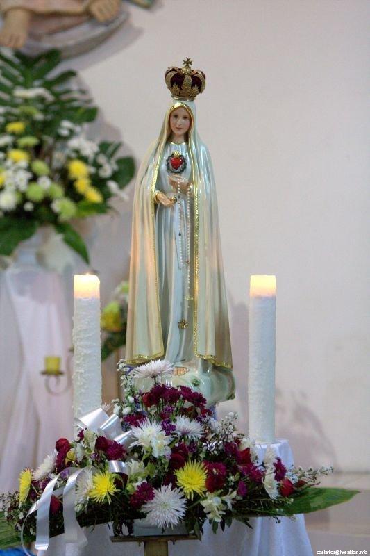 Imagen de la Virgen visita la parroquia San José de Alajuela