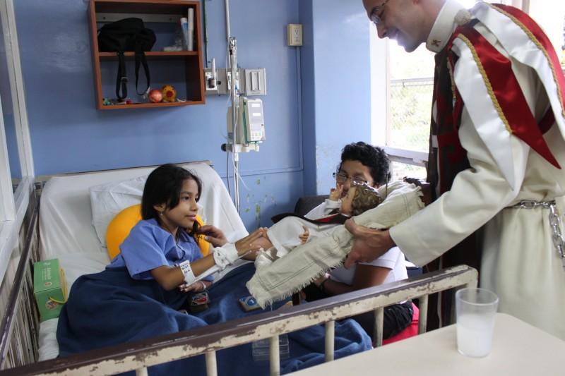 Visita al Hospital de Niños