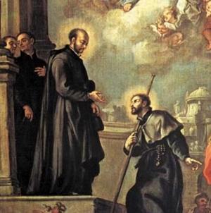 Santo Inácio envia São Francisco Xavier para missões na Ásia