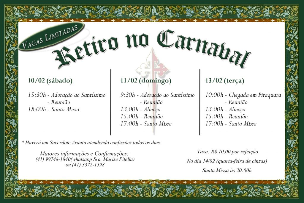 Convite de Carnaval