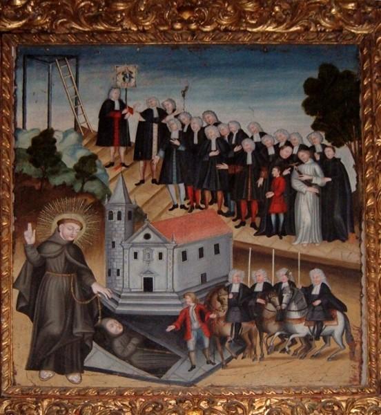 Santo Antônio salva o seu pai da forca….