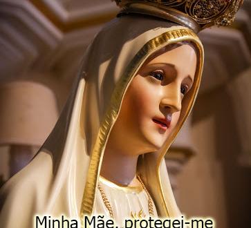 Acompanhado por Nossa Senhora