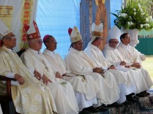 Algunos Obispos dominicanos
