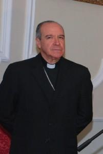 Su Eminencia Reverendísima Nicolas de Jesús Cardenal Lopez Rodriguez, Arzobispo de Santo Domingo, Primado de América y Preseidente de la Conferencia Episcopal Dominicana.