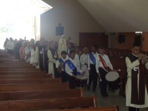 Entrada de la Imagen de Nuestra Señora de Fátima
