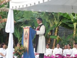 Durante el canto del salmo