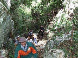 Se dispusieron a subir el Cerro Guacara.