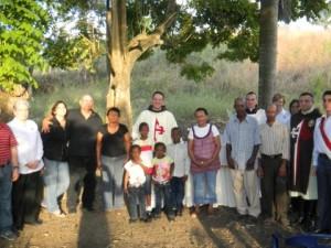 Misa por el Rvdo Padre Juan Pablo Merizalde en Manoguayabo