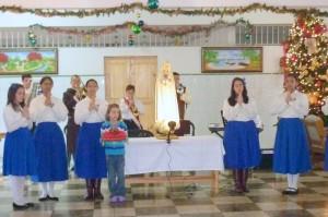 La Coronacion de La Virgen en el Ancianato
