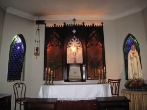 Capilla de la Casa San Vicente Ferrer de los Heraldos del Evangelio