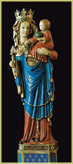 Madonna di Parigi casa degli Araldi del Vangelo Toronto Canada
