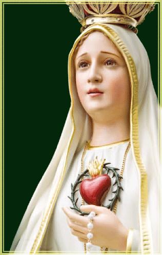 Statua-Pellegrina-del-Cuore-Immacolato-di-Maria-appartenente-agli-Araldi-del-Vangelo