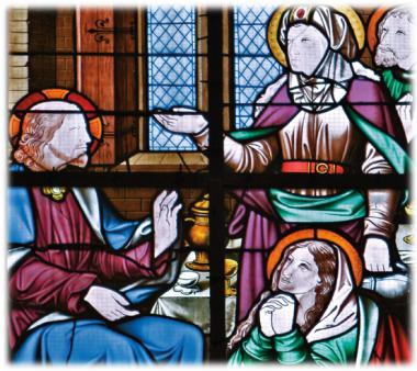 Gesù, Marta, Maria, Lazzaro
