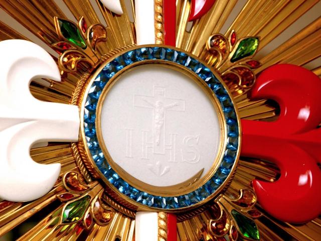 Gesù con noi nell'Eucarestia