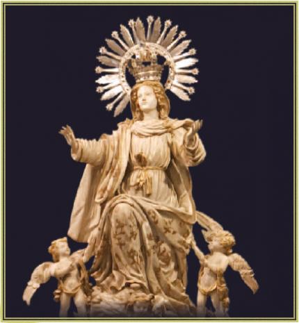 """""""Madonna-dell'Assunzione""""-Basilica-di-Santa-Maria-dei-Sacri-Corporali,Daroca,-Spagna"""