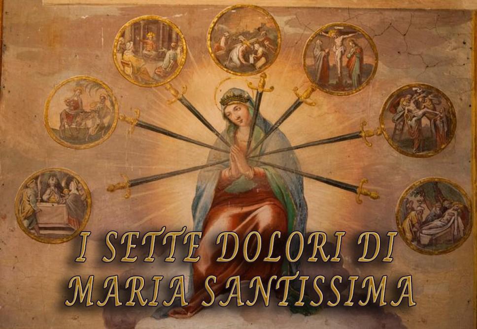 Devozione dei sette dolori di Maria Santissima
