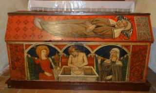 Prima urna dove ha riposato il corpo di Santa Rita