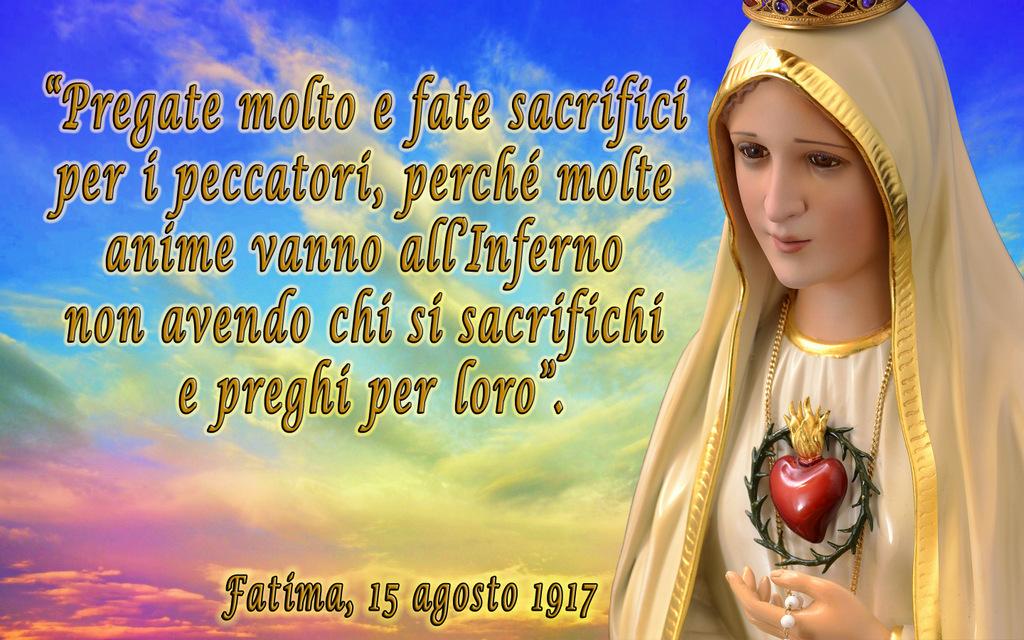 Quarta apparizione della Madonna, Araldi del Vangelo