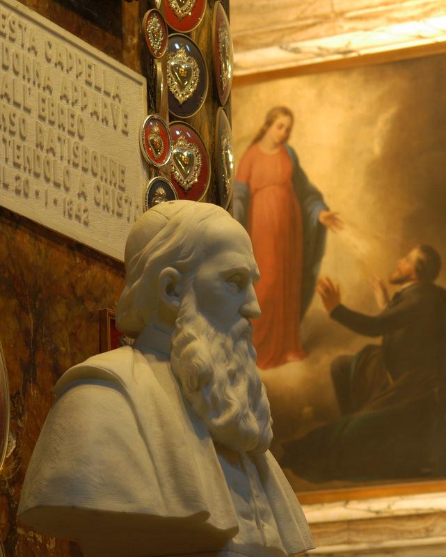 Alfonso Ratisbonne - Madonna del Mirácolo, Roma