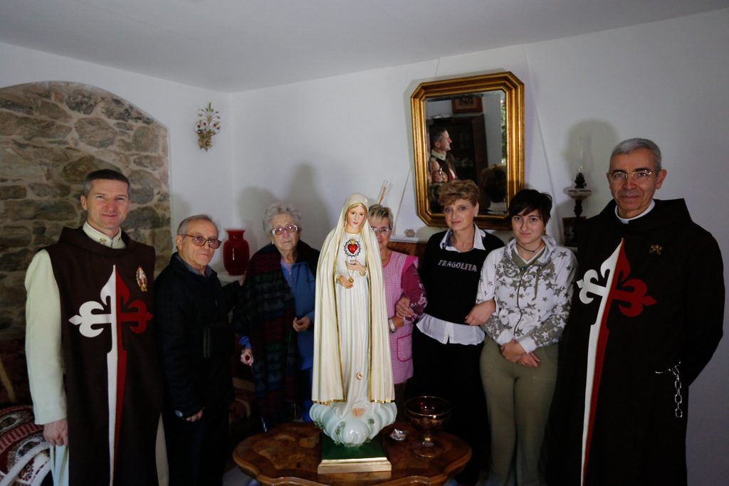 Marian Mission at Castelpoggio, Massa-Carrara, MS,  Italy