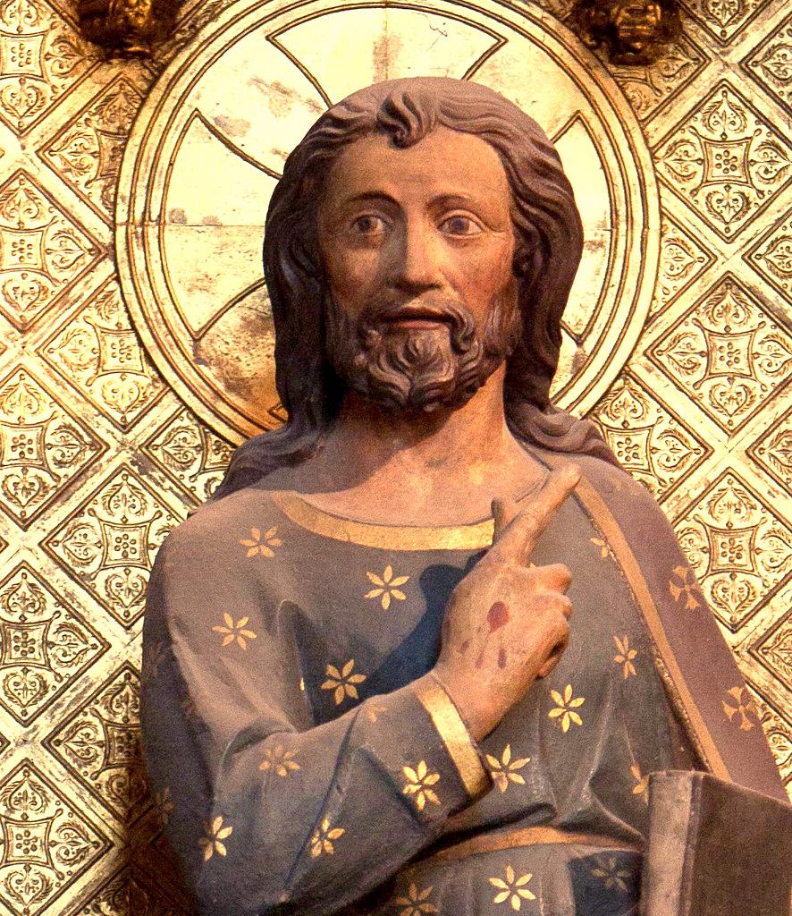 Gesù insegna ai suoi discepoli.
