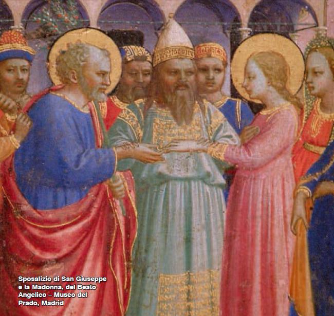 Sposalizio di San Giuseppe e la Madonna