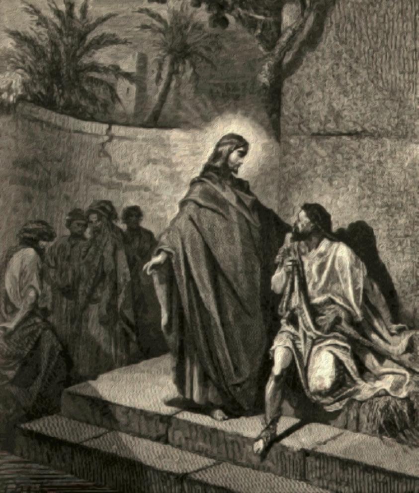 Nostro Signore guarisce un sordomuto, di Gustavo Doré