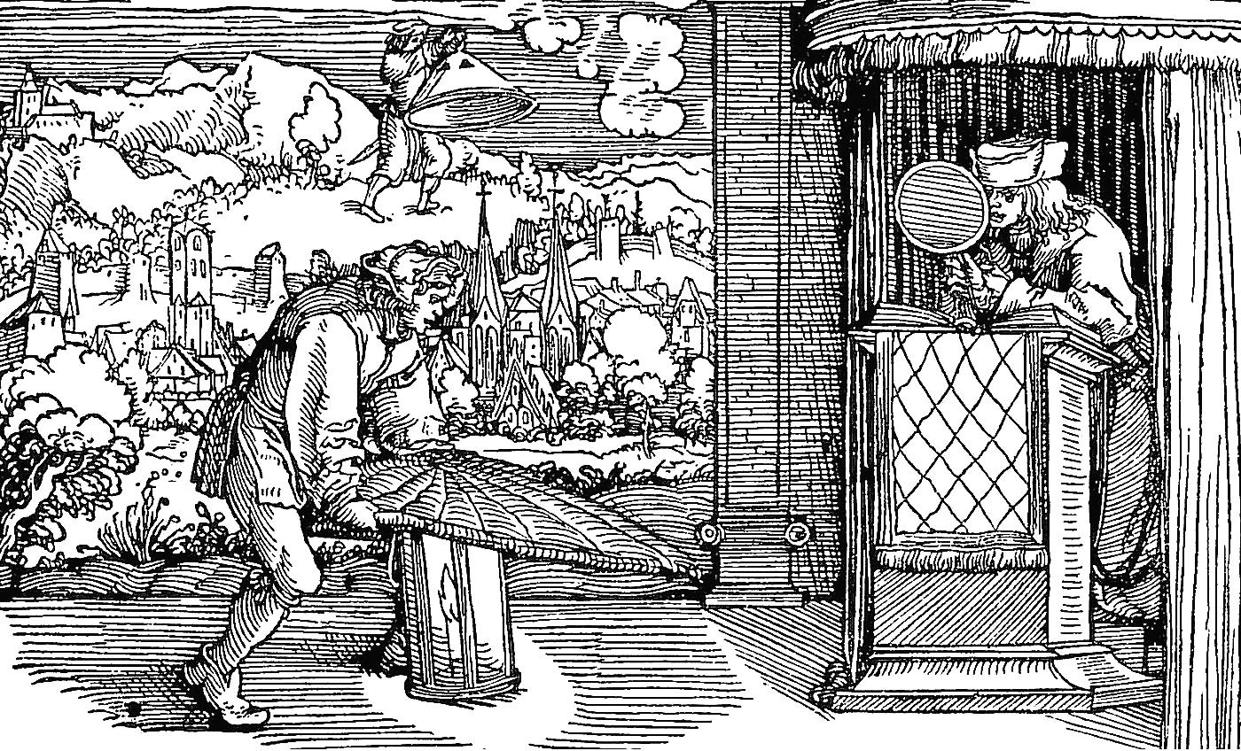 Incisione biblica del XVI secolo