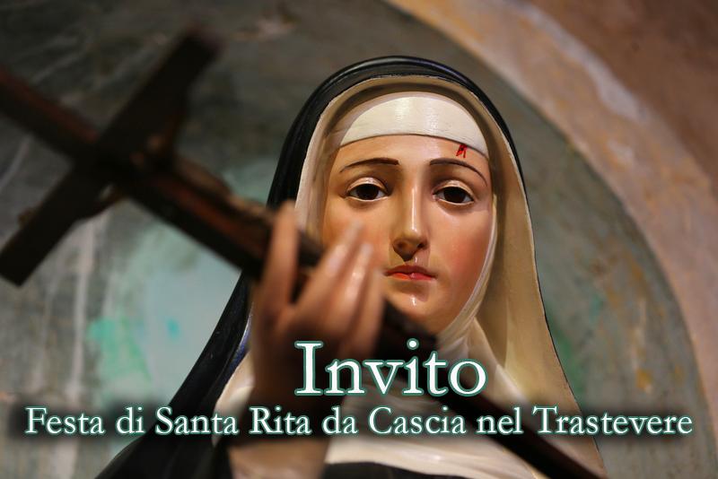 Programma della festa di Santa Rita
