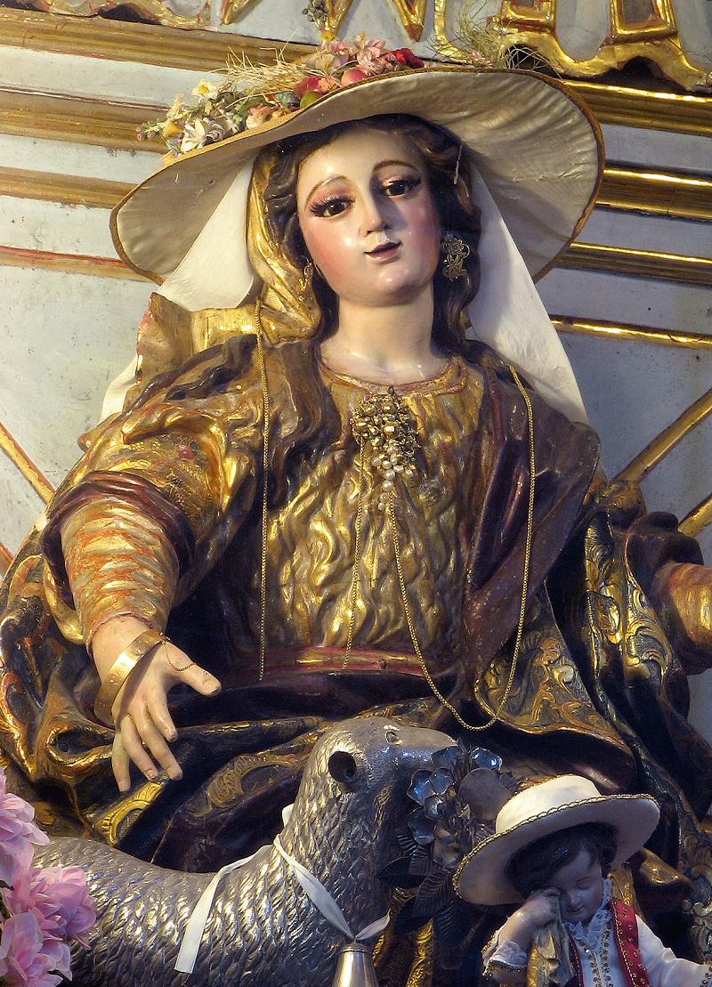 La Divina Pastora – Chiesa di San Pietro Apostolo, Arcos de la Frontera (Spagna)