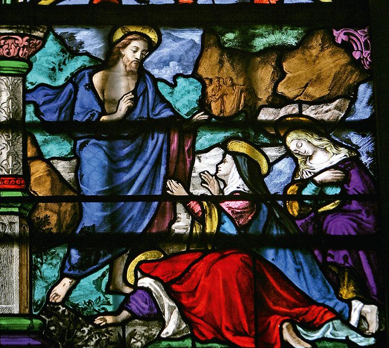 Nostro Signore appare alle Sante Donne – Basilica Notre-Dame de L'Épine (Francia) - Araldi del Vangelo
