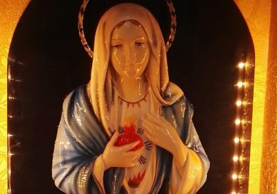 Madonna delle lacrime - Reliquia a Messina