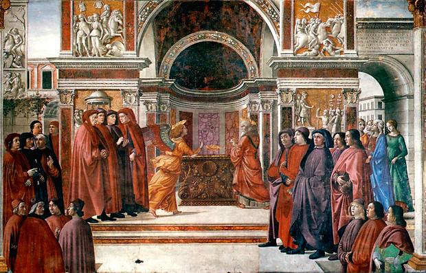 Apparizione dell'Angelo a Zaccaria