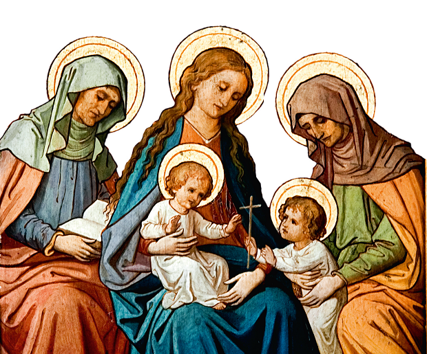 Bambino Gesù e San Giovanni Battista