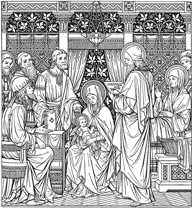 Beata Vergine Maria con il Bambino Gesù