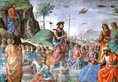 Predicazione di San Giovanni Battista