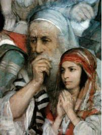 Cristo predica nella sinagoga