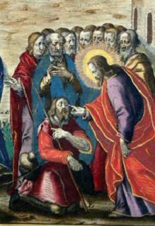 Gesù che guarisce un cieco