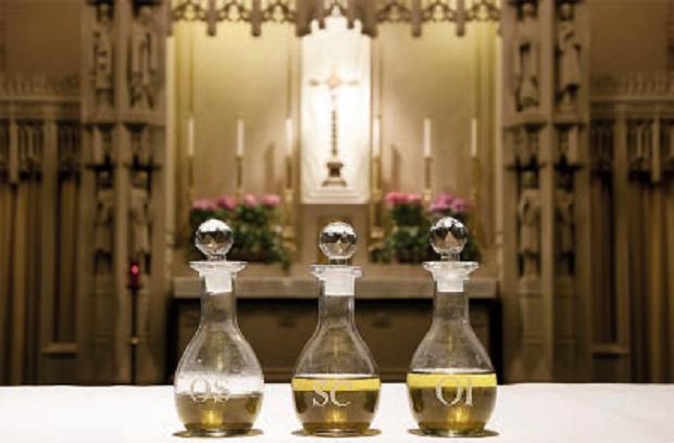 Oli Santi – Chiesa Santa Edith Stein, Brockton (Stati Uniti)