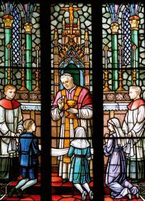 San Pio X dà la Comunione ai bambini
