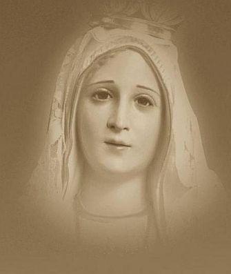 rosto Nossa Senhora