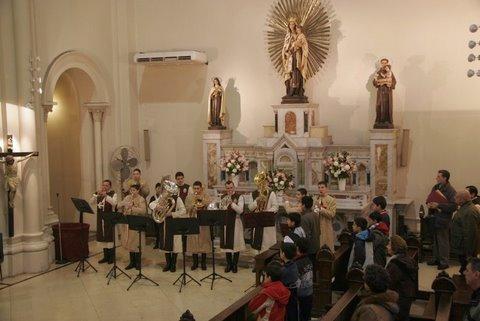 Heraldos en Argentina - Coro y Banda
