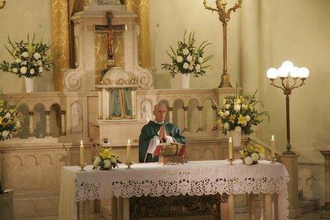 Heraldos en Argentina- Misa del P. Rafael Ibarguren.