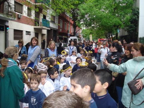 Heraldos en Argentina - Semana con María