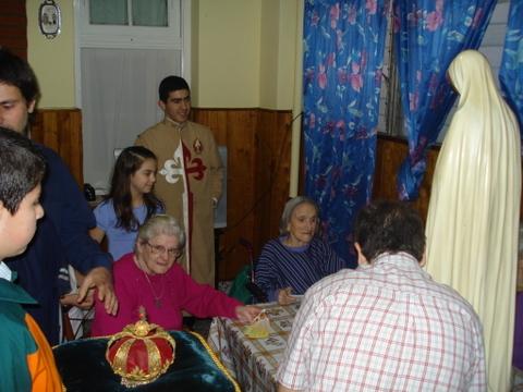 Heraldos en Argentina - Visita a Geriátricos