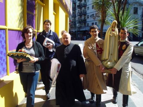 Heraldos en Argentina - Misionando por Caballito