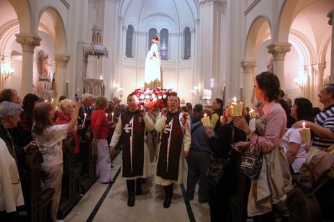 Heraldos en Argentina - Ceremonia del 13 de octubre