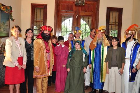 Heraldos en Argentina - Actividad con Familias