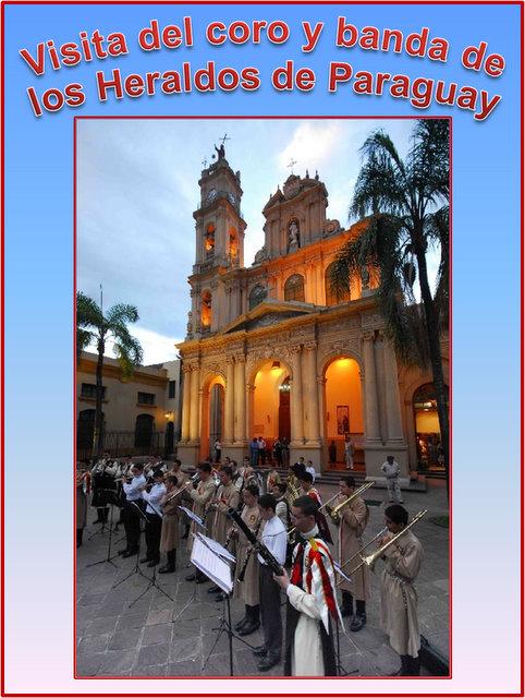 Visita de los Heraldos de Paraguay